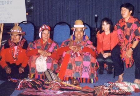 Q'ero Elders and Healer and Shamanic Practioner Susana Sori