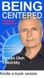 Being Centered the must have book to support your healing proces is also availble as an e-book